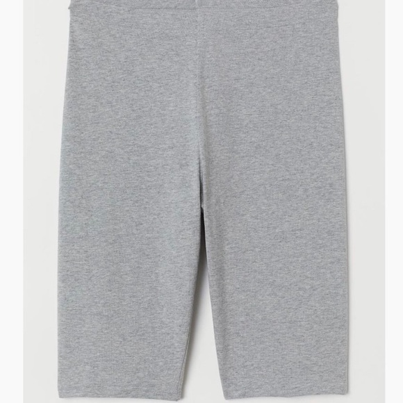 Gray biker shorts